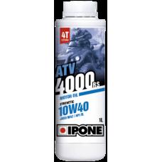 Ulei ATV 4T Ipone ATV 4000 10W40 Sintetic - JASO MA2 - API SL, 220L